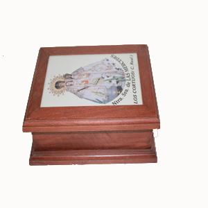 Caja de madera VIRGEN DE LAS MERCEDES 2