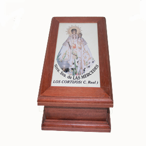 Caja de madera VIRGEN DE LAS MERCEDES