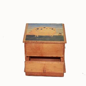 Cajita de madera con cajón