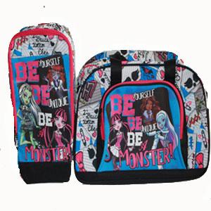 Bolsa de deporte y zapatillero Monster High