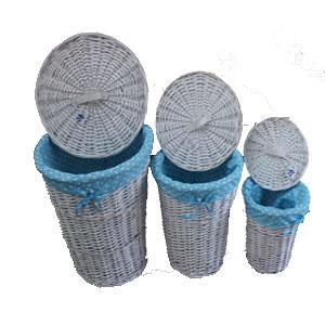 Cestos de mimbre cestos de mimbre blanco admiten cajonera cestas de mimbre chocolate mimbre - Cestos de mimbre blanco ...