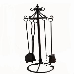 Set de utensilios de chimenea grande - Utensilios para chimeneas ...