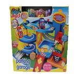 Juego de parking y garaje para niños