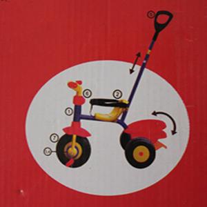 Mi primer triciclo con barra de empujar