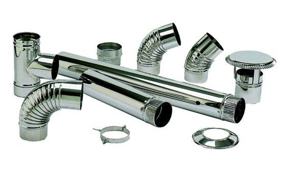 Estufas de le a y accesorios - Tubos de acero inoxidable para chimeneas ...