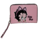 Monedero Betty Boop Rosa plastificado
