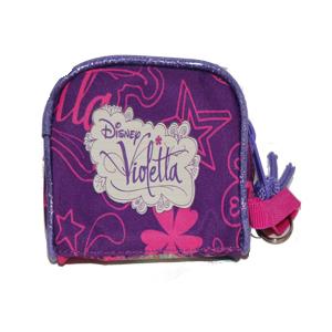 Monedero pequeño de Violetta trasera