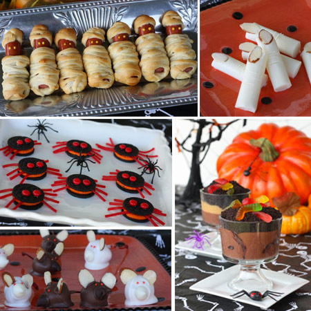 5 recetas f ciles para halloween for Ideas de comidas faciles