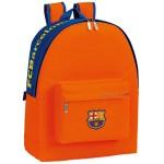 mochila fc barcelona naranja