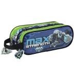 MAX STEEL - Portatodo doble