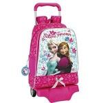 FROZEN - Mochila grande Elsa y Anna ajustable con carro.