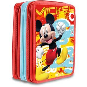 Mickey - Plumiers 2 apartados 34 piezas