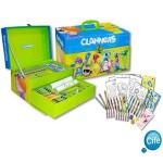 Claners - Maletin fantasia para colorear