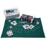 REAL MADRID - Caja metal 200 fichas poker