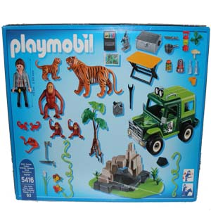 playmobil wild life jeep safary. Black Bedroom Furniture Sets. Home Design Ideas