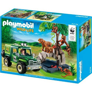 Playmobil WILD LIFE - Jeep Safary