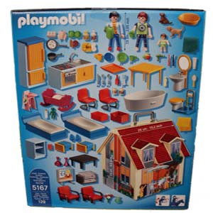 Playmobil Casa De Mu Ecas Transportable