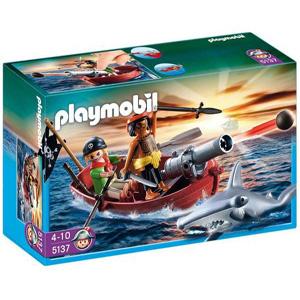 Playmobil piratas y tiburon