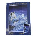 Puzzle 1000 - Lobo Blanco